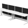 Configure Straight Electric Height Adjustable Workstations