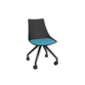 Planet-Black-Chair-with-Castor-Base