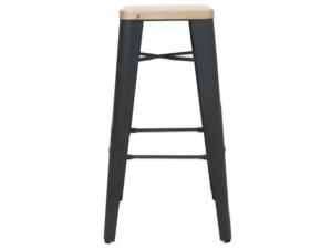 STOOL COGNAC V2 .75 Black(3)