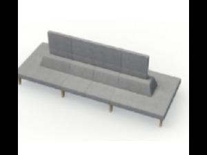 Hybrid modular Soft Seating(2)