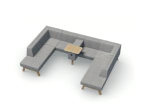 Hybrid modular Soft Seating(3)