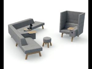 Hybrid modular Soft Seating(4)