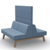 Hybrid Modular Soft Seating