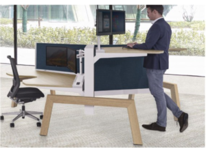 Max Hybrid Wing sit-stand desking(1)