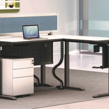 Swift L-Shaped Electric Height Adjustable Desk
