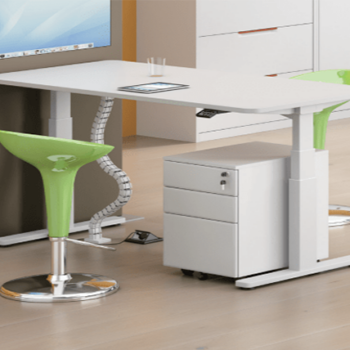 Swift Straight Electric Height Adjustable Desk