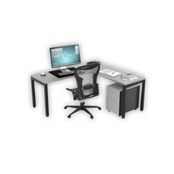 Preset L-Shape Desk
