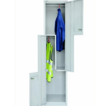 Two-tier Step Locker