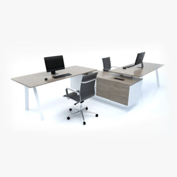Edge Zee System 2 Person Workstation
