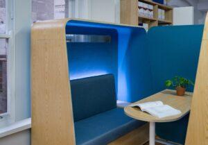 Collaboration Furniture Surround Sofa one side 800
