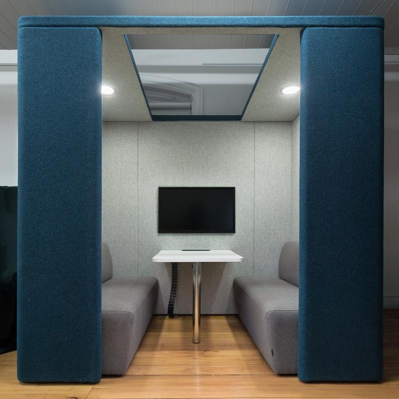 booth furniture roof collaborative booth modern office furniture
