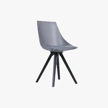 My Chair With Black Square Metal Leg