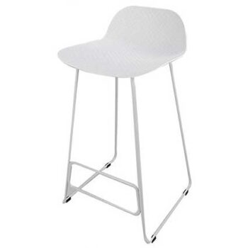 Arco Stool with Metal Legs
