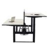 Elevation Manual Winder Height Adjustable Sit-Stand Desk