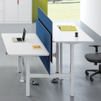 Swift 2 Person Back to Back Electric Height Adjustable Desk