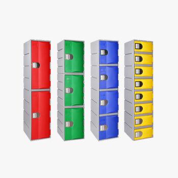 HD Plastic Lockers