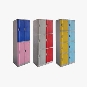 Abs Plastic Lockers