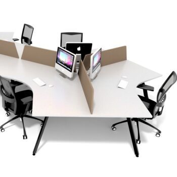 FX 120 3 Person Workstations