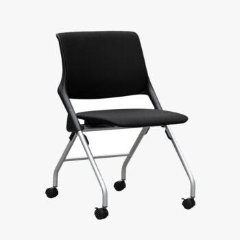 Cross Silver Steel Training Chair