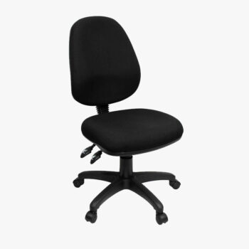 Workx Black Fabric Executive Task Chair