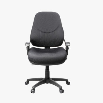 Oxford Black Fabric Executive Task Chair