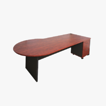 P Shape Executive Desk