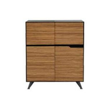 Nova 6 Drawer Timber Veneer Buffet Cabinet