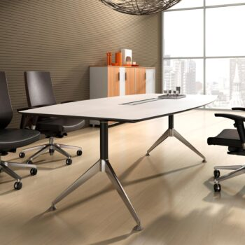 Tenza Boardroom Table Virginia Walnut