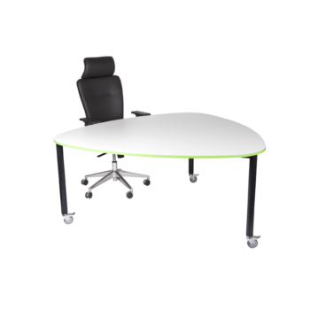 Tripod Student Table 1600 With Wheels
