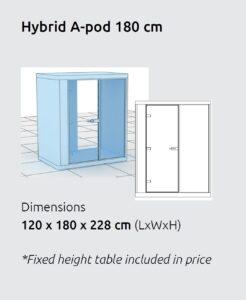 Hybrid A Pod 180 Size