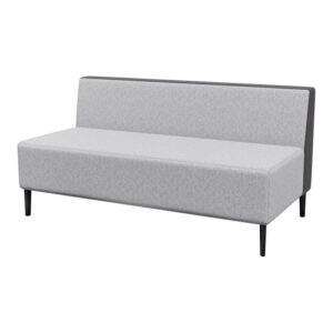Haven Standard No Arms 2Seater Metal Feet 800×800