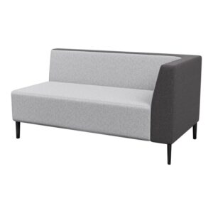 Haven Standard Right Arm 2Seater Metal Feet 800×800