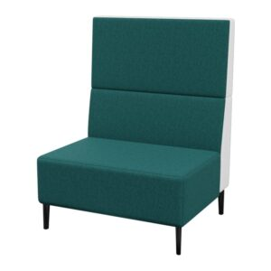 Haven Tall No Arms 1Seater Metal Feet 800×800