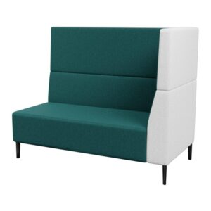 Haven Tall Right Arm 2 Seater Metal Feet 800×800