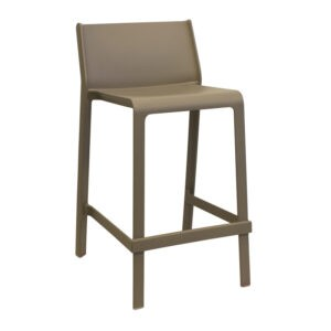 STOOL TRILL 650MM TAUPE