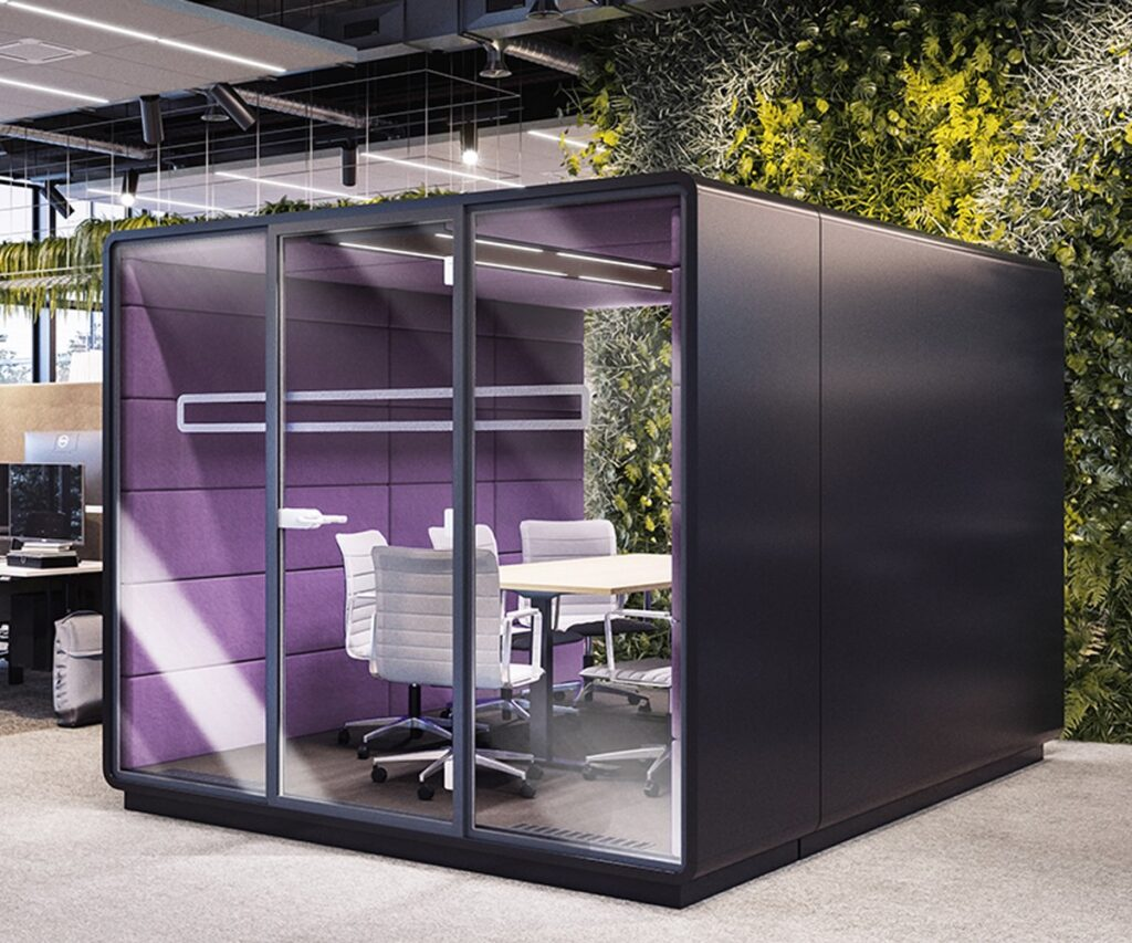 Acoustic Meeting Work Pods