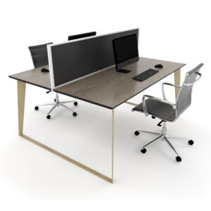 Skill 2 person Timber grain workstations