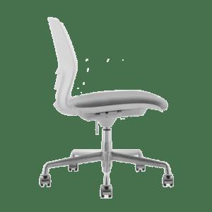 ARM CHAIR SNOUT 4 LEG WHITE GREYBLACK SEATPAD