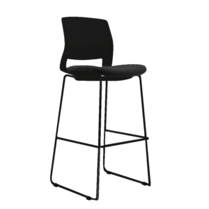 STOOL SNOUT 760 black SEATPAD 1